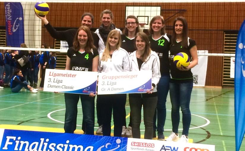 Damen | Ligameister und Aufstieg